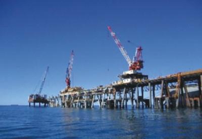 澳洲CLB钢管桩防腐工程